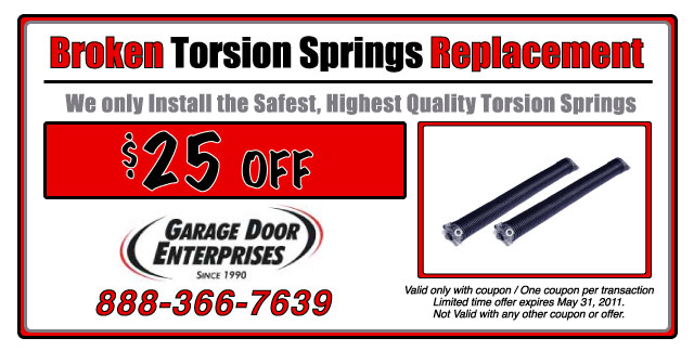 Spring Replacement Coupon